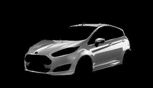 Цвета кузова Fiesta 5-ти дверная