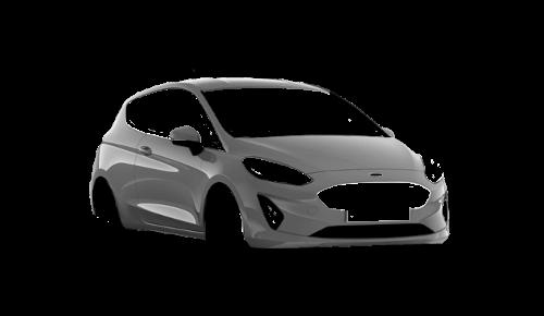 Цвета кузова Fiesta 3-х дверная